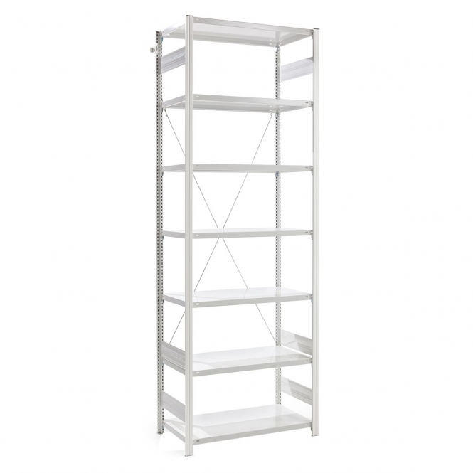 PremKraft Anti Bacterial Shelving Unit 3000mm High