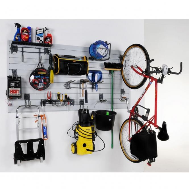 Garage Wall Rack Kit Slatwall Panel System From Bigdug Uk