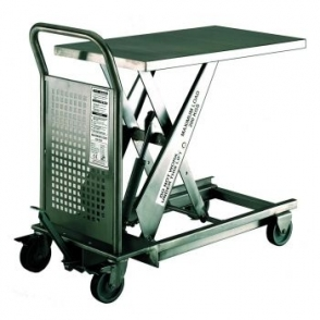 Mobile Stainless Steel  Scissor Lift Tables