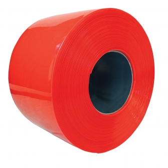 Red PVC Strip Curtain Rolls