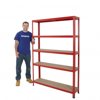Red Special Offer Boltless Shelving