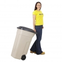 Rubbermaid 100 Litre Mobile Waste Bin Containers