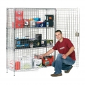 Security Cage Shelving