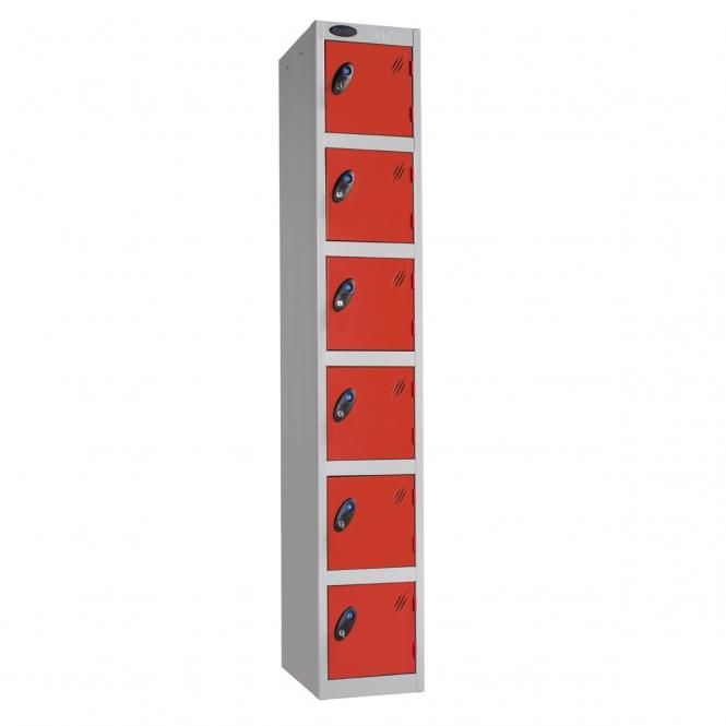 Six Door Lockers 460mm Deep
