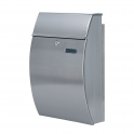 Stainless Steel Letter Box with Curved Front