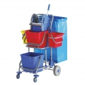 Stair Climbing Cleaning Trolley