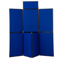 Standard Display Stands 7 Panel PVC