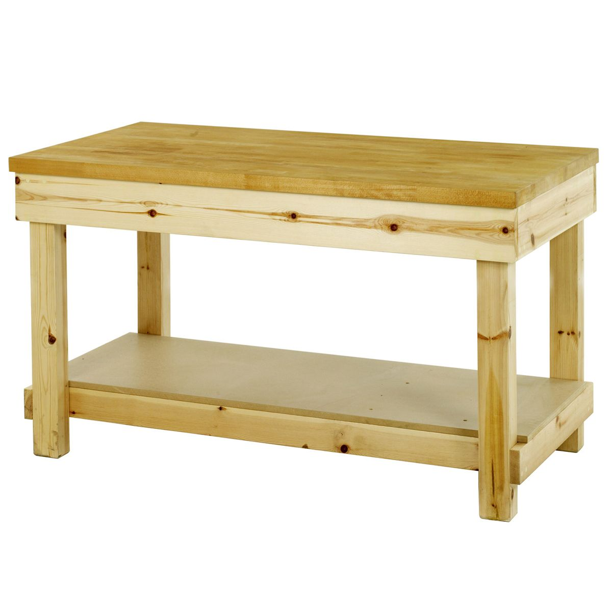 wooden work benches