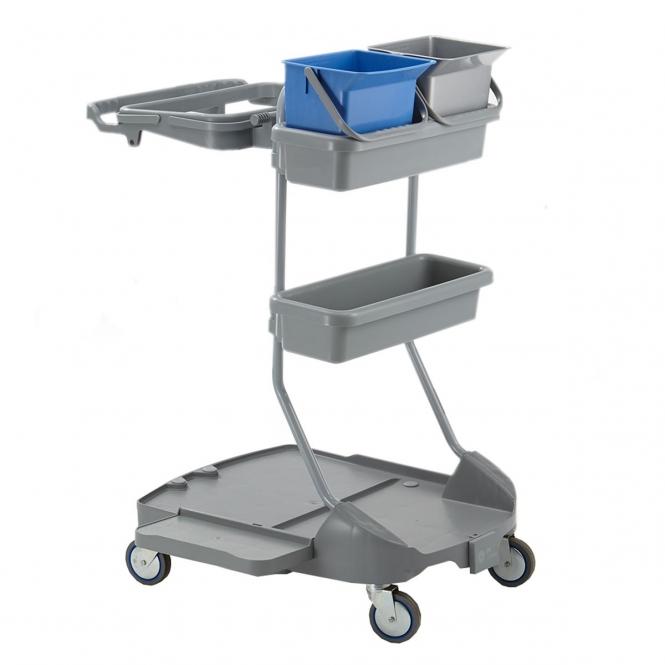 StanKraft Plastic Cleaning Trolley