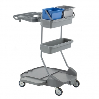 StanKraft Plastic Cleaning Trolley
