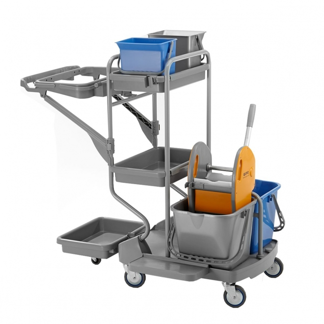 StanKraft Plastic Cleaning Trolley System