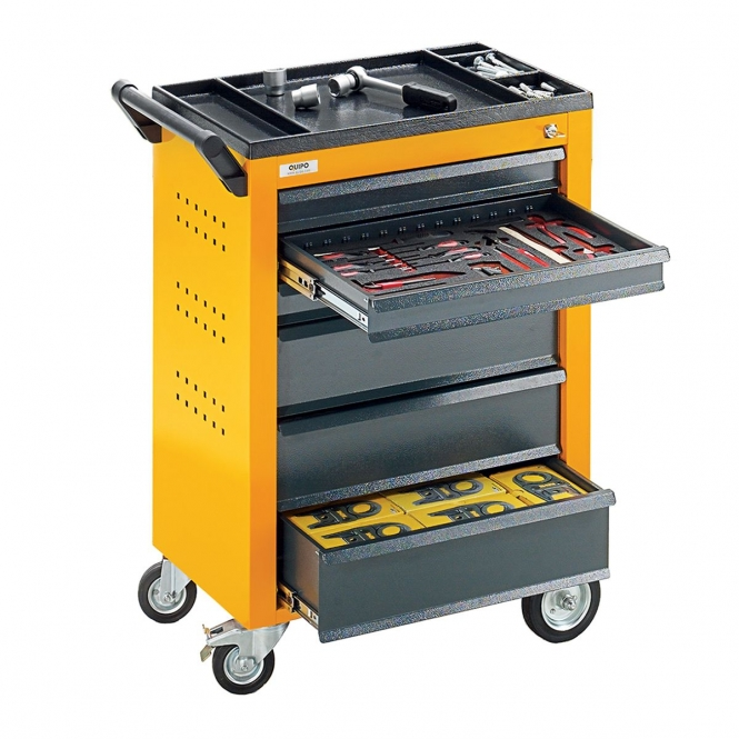 StanKraft Tool Trolley with 6 Drawers