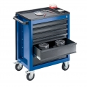 StanKraft Tool Trolley with Tool Panel and 6 Drawers