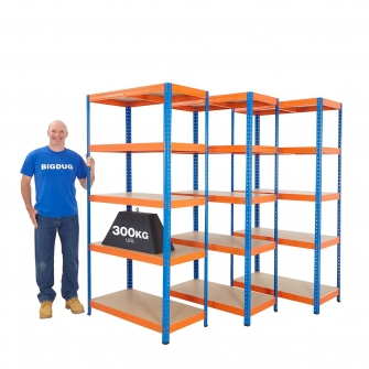 Stockroom Shelving Mega Deals 2000mm High
