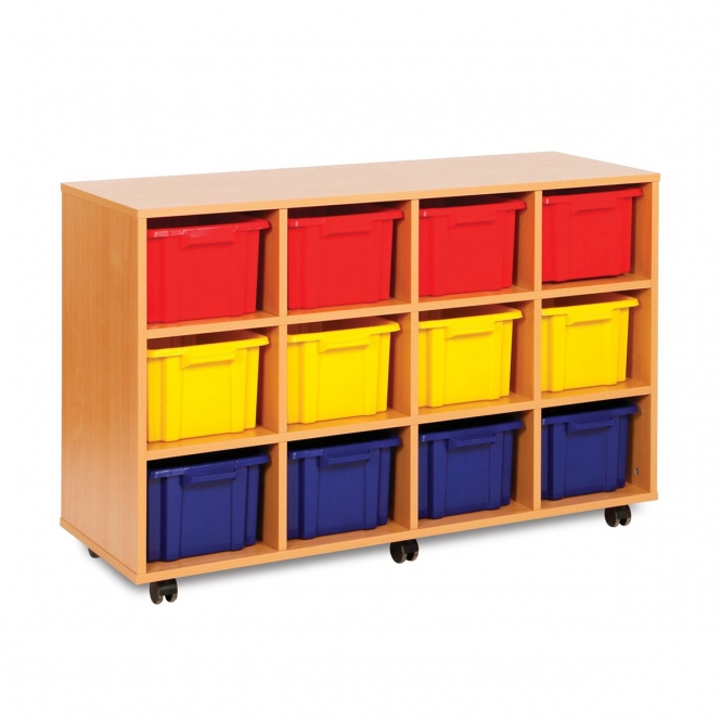 Strata 12 Deep Tray Wooden Units