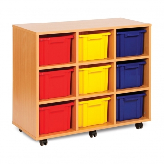 Strata 9 Deep Tray Wooden Units