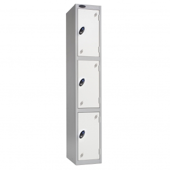 Three Door Lockers 305mm Deep