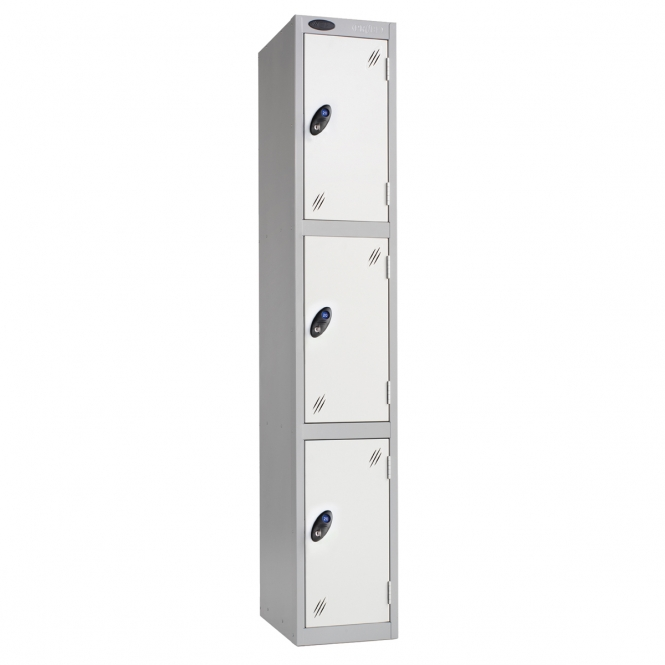 Three Door Lockers 460mm Deep