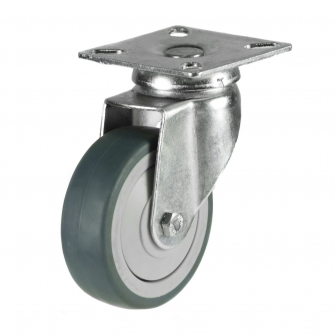 Top Plate 14 Series Castors With Synthetic Non-Marking Wheels