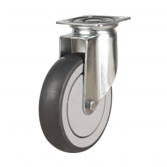 Top Plate 16 Series Castors With Synthetic Non-Marking Wheels
