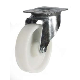 Top Plate 22 Series Castors With Nylon Wheels