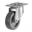 Top Plate 26 Series Castors With Synthetic Non-Marking Wheels