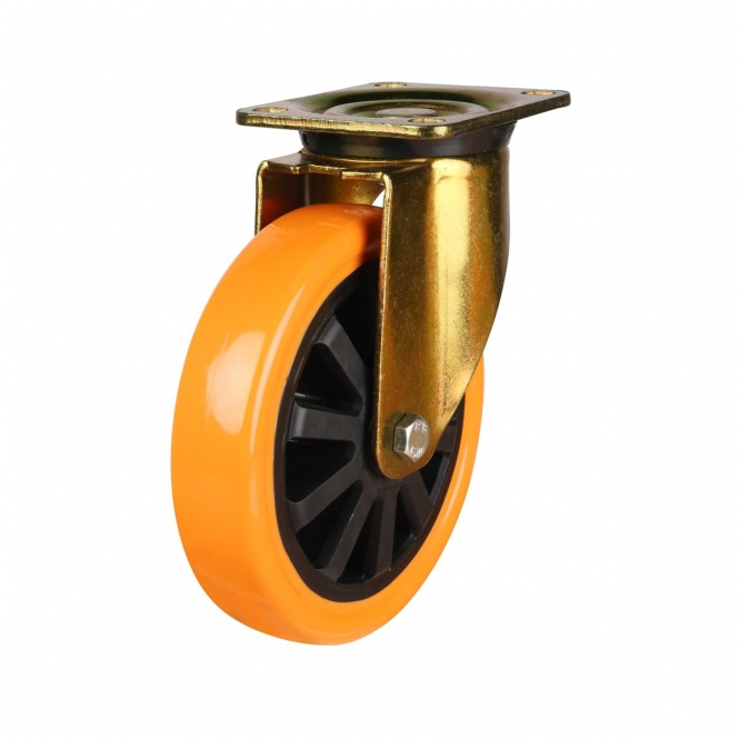 Top Plate 51 Series Castors With Polyurethane Wheels