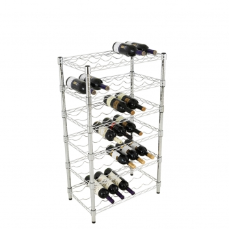 Value Chrome Wine Rack