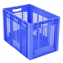 Ventilated Euro Containers Blue