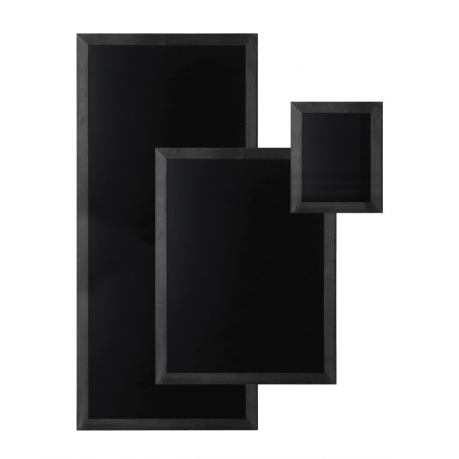 Wall Mounted Black Chalkboards