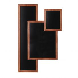 Wall Mounted Light Brown Chalkboards