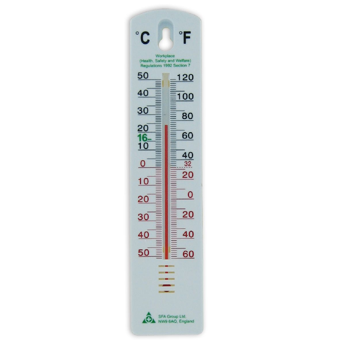 Wall Thermometer First Aid Equipment From Bigdug Uk