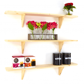 Wooden Shelf Kits