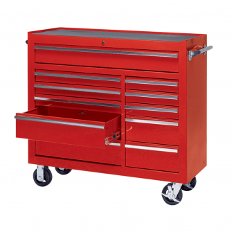 Workshop Tool Trolley with 11 Drawers
