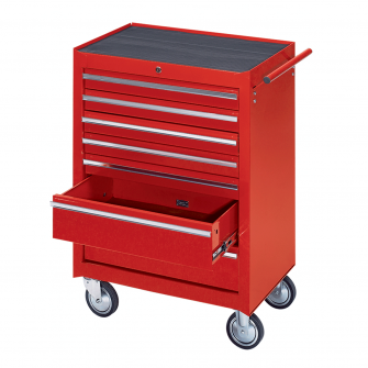 Workshop Tool Trolley with 7 Drawers